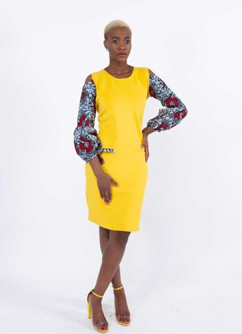 Image of African Infused Dress - Ofuafo, Female, Dial_Outfits, Dial_Outfits