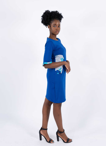 African Infused Dress - Edirin, Female, Dial_Outfits, Dial_Outfits