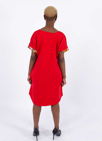 African Infused Dress - Elohor, Female, Dial_Outfits, Dial_Outfits