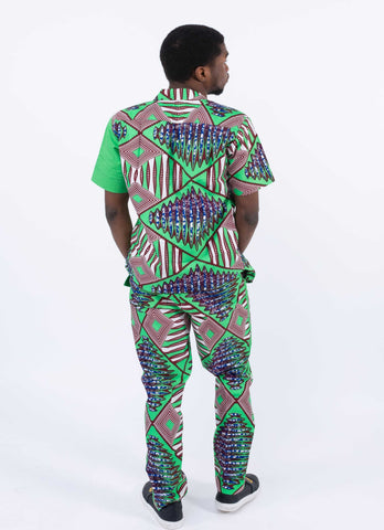 Image of African Print Men Pant - Tega, Male, Dial_Outfits, Dial_Outfits