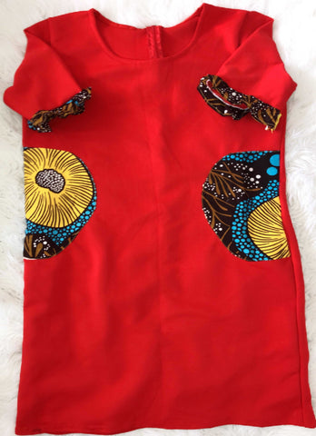 Image of African Infused Dress - Edirin, Female, Dial_Outfits, Dial_Outfits