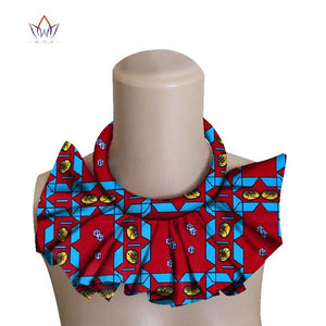 African Print Choker Necklace WYX09 | Dial_Outfits