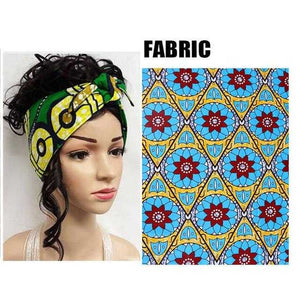 African Print Head Tie WYX04 | Dial_Outfits