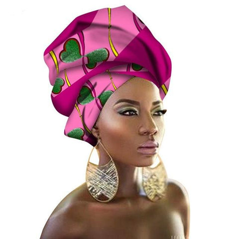 Image of African Print Turban Head Tie | Dial_Outfits