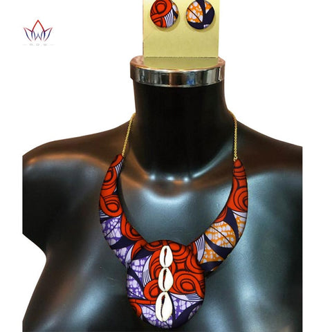 Image of African Print Jewelry Set WYb337 | Dial_Outfits