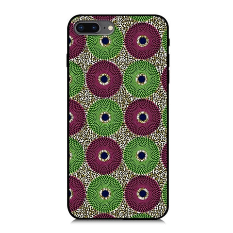 Image of African Ankara Print iPhone6/iPhone7plus Phone Wax Phone Case Silicone Phone Case | Dial Outfits