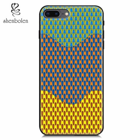 Image of African Print Phone Case AI