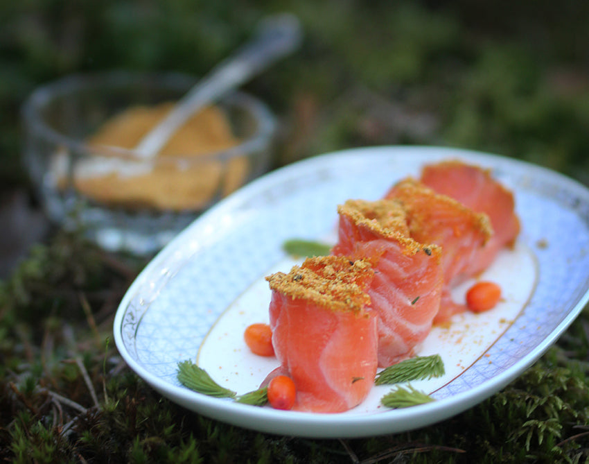 Wild Forest Spice with Salmon