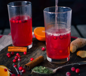 Warm Birch-Lingonberry Drink