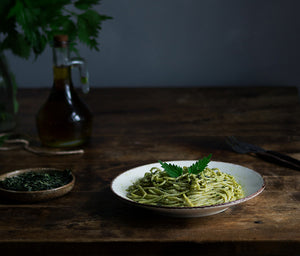 Pasta with Nettle Sauce