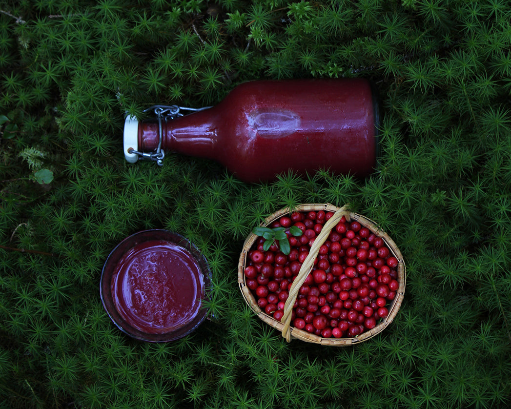 Berry + Herbs Smoothies