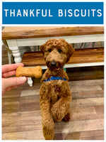 Thankful Biscuits! : Pumpkin Dog Biscuit Recipe