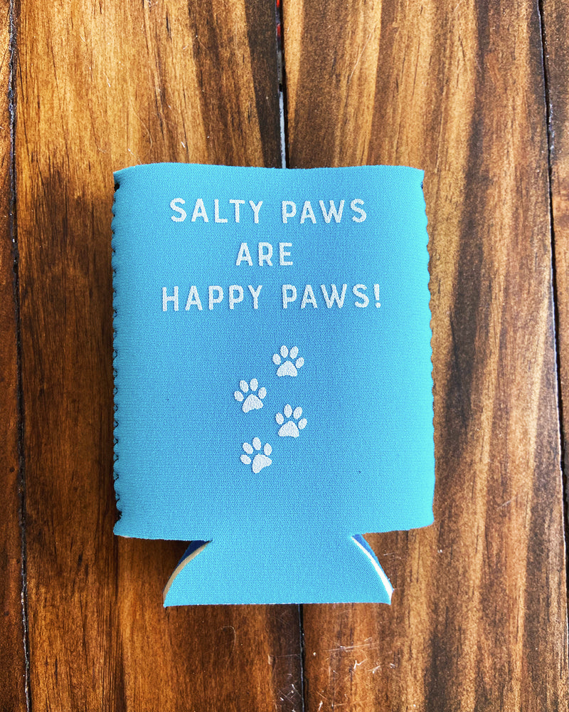 Salty Paws Neoprene Coozie