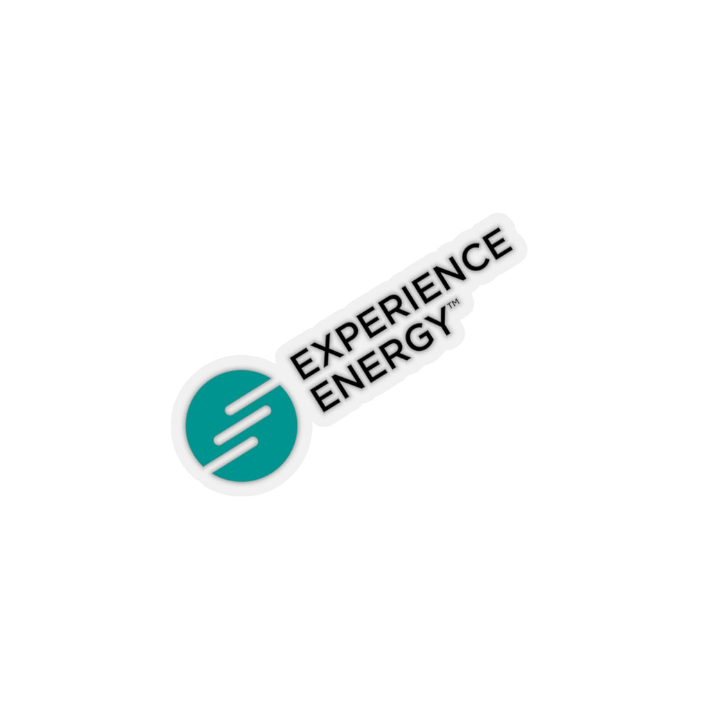 Experience Energy Kiss-Cut Sticker