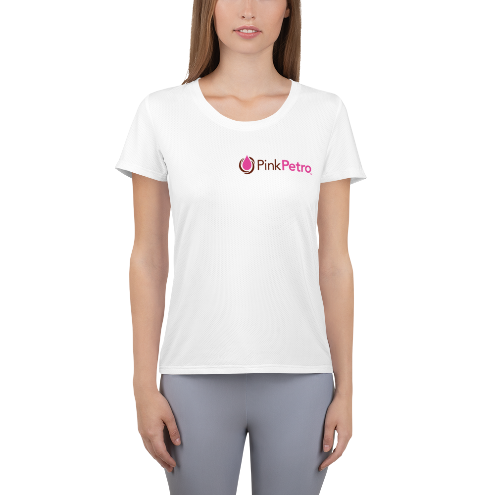 Pink Petro Women's Athletic T-shirt