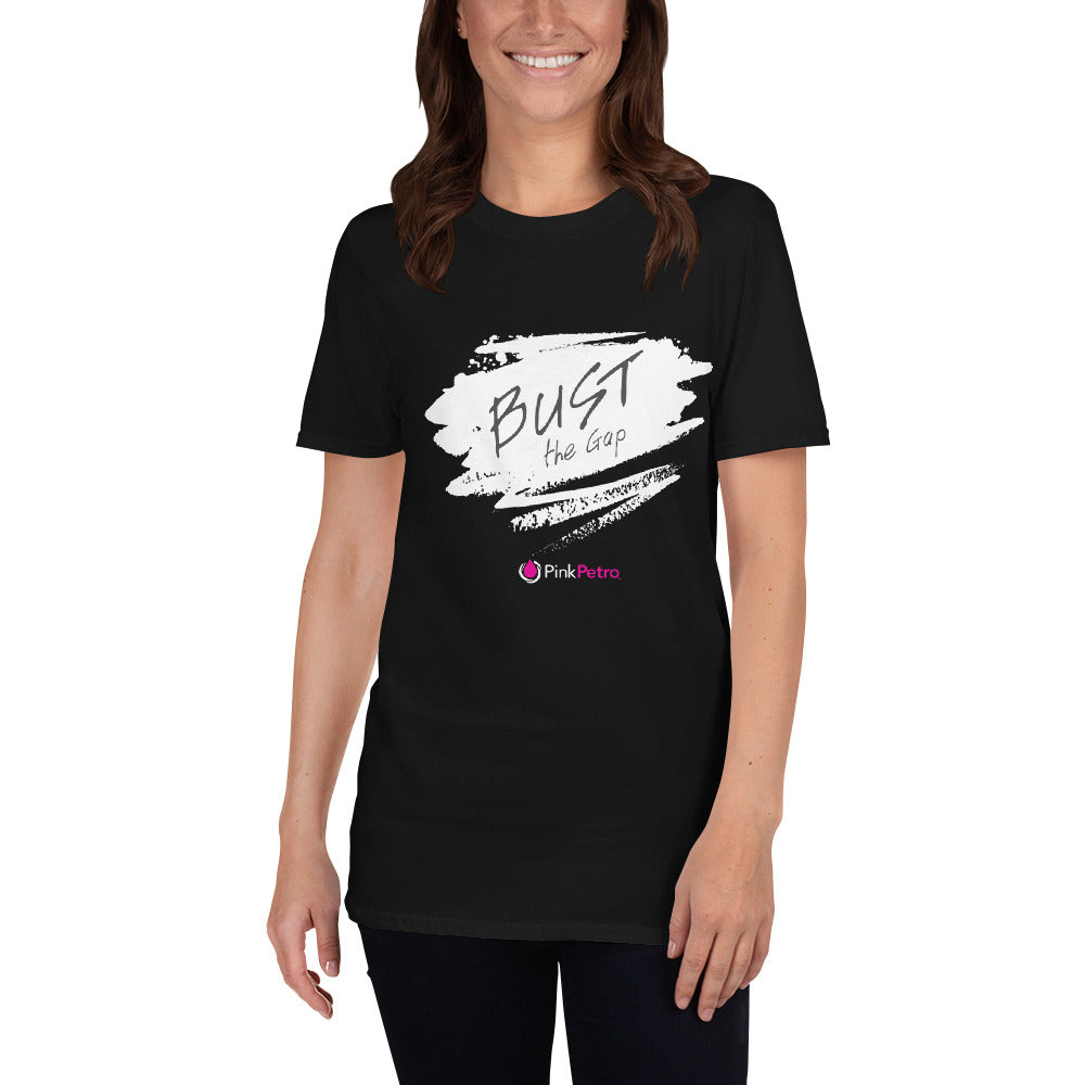 BUST THE GAP: Short-Sleeve Unisex T-Shirt