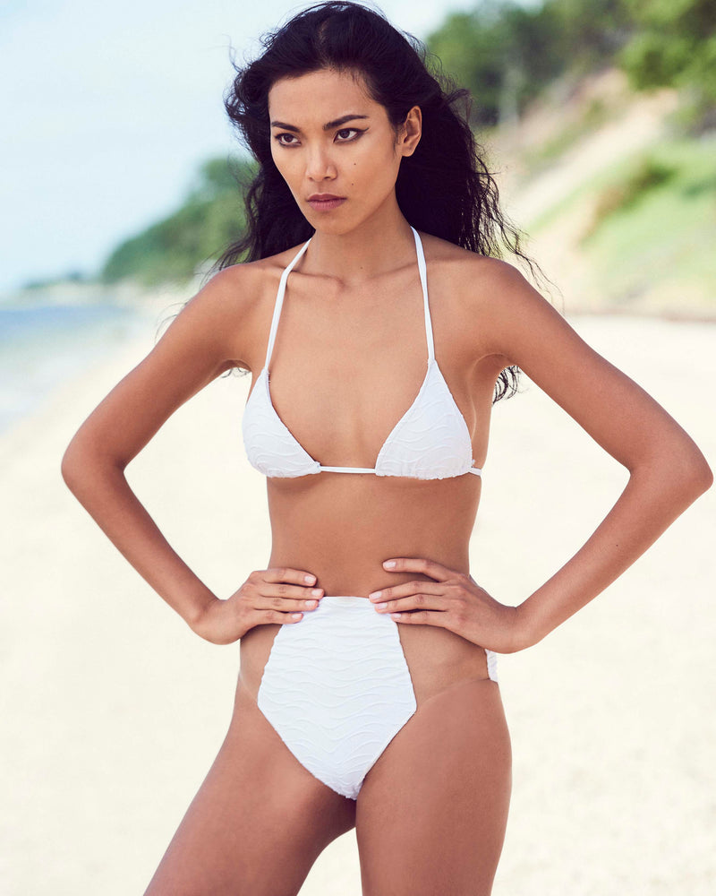 High Waist Wave Bikini