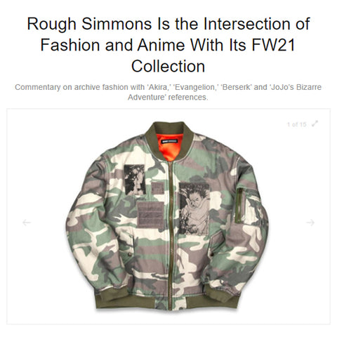 Rough Simmons AW21 Hypebeast Article