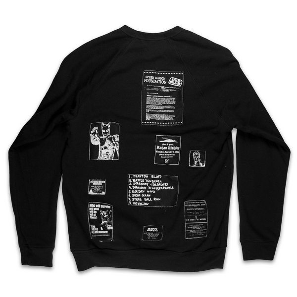 Za Warudo Patched Sweatshirt