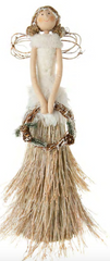 Angel with Grass Skirt