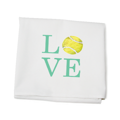 LOVE Tennis flour Sack Towel