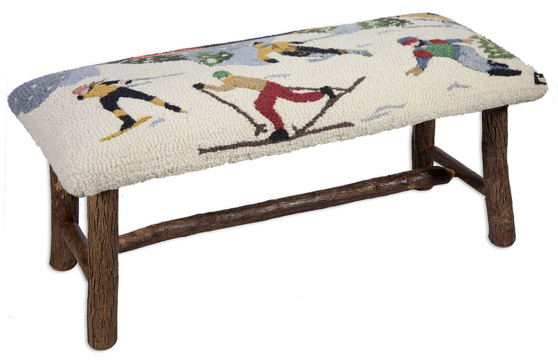 Snow Sports Hickory Bench