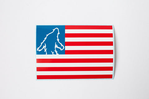Bigfoot USA Sticker