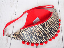Load image into Gallery viewer, Hot Red Tiger Hip Bag