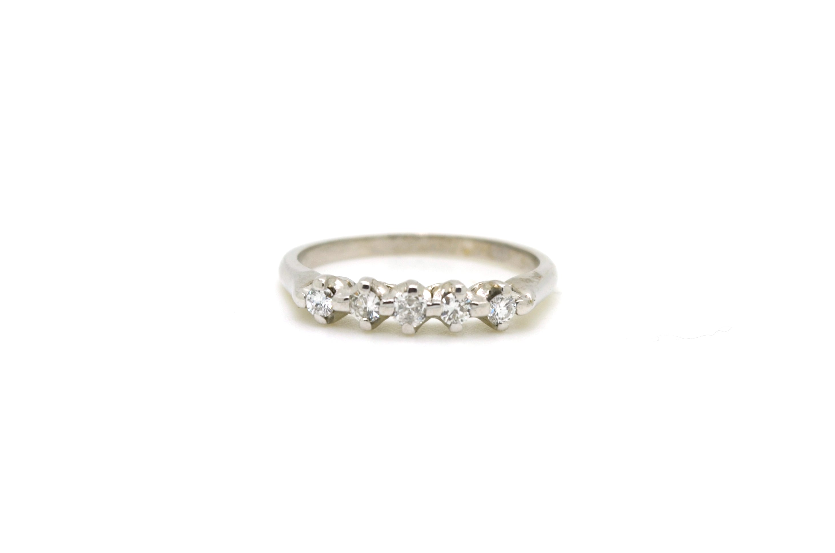 davies and product white edwards band round gold bands channel ring baguette diamond set