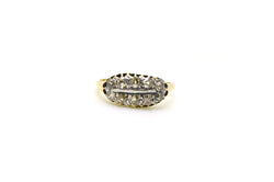 Antique 14k Yellow Gold Old European Cut Diamond Ring - .75 ct. tw - Size 7.75