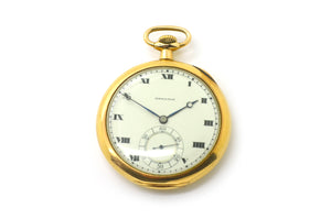 Vintage 14k Yellow Gold Hamilton Watch Co. 23 Jewels Pocket Watch - 48 mm