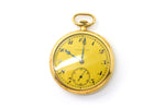 Vintage 14k Yellow Gold J. E. Caldwell Pocket Watch - 19 Jewels - 11027 - 10070