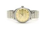 Vintage Helbros Stainless Steel Base Metal Self Winding Watch - Stretch Bracelet