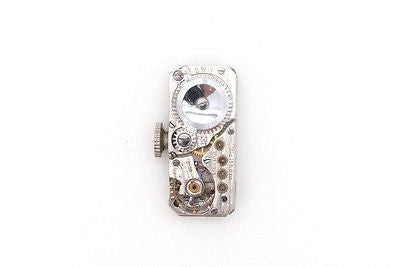Vintage Ladies Platinum Waltham Co. Watch with Diamonds - 17 Jewels - 2.00 ct.