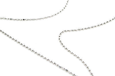 14k White Gold Diamond Six Prong Solitaire Necklace - .40 ct. H-I / SI1 - 16 in.