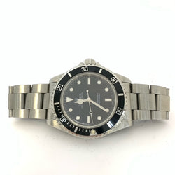 Rolex Submariner 14060 Stainless Steel Black Dial Watch 41mm