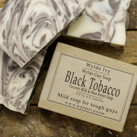 Black Tobacco Men's Soap