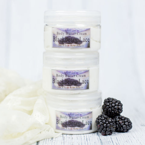 Blackberry Lace Body Butter Cream