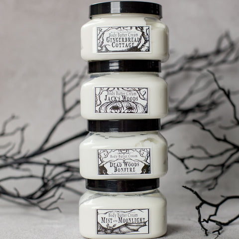 Jack's Woods Collection Body Butter Cream with Shea and Cocoa Butter