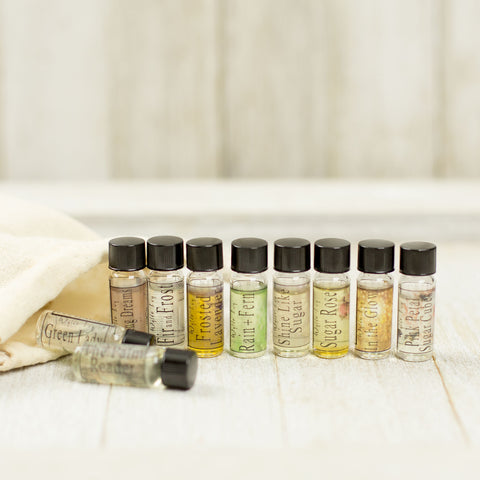 10 Perfume Oil Sample Set
