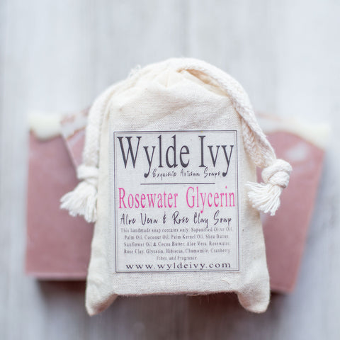 Rosewater Glycerin Soap