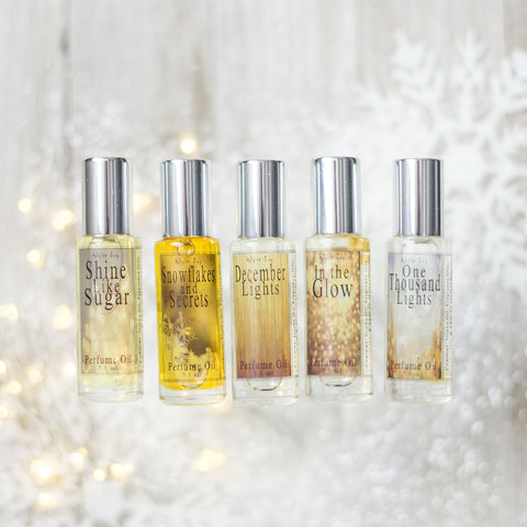 Season of Light Collection Perfume Oils