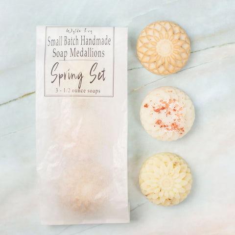 Soap Medallions Sample and Guest Set