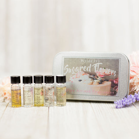 Sugared Flowers Collection Perfume Oil Sampler