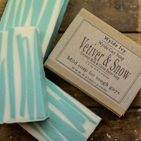 Vetiver & Snow Men's Soap