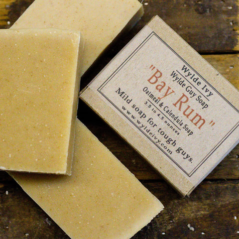 Bay Rum Men's Soap