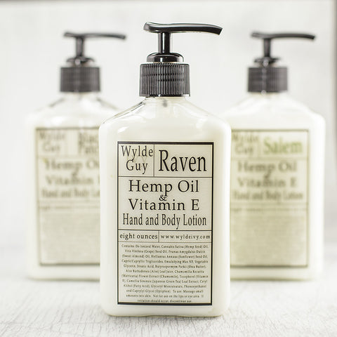 Men's Line Hemp and Vitamin E Lotion