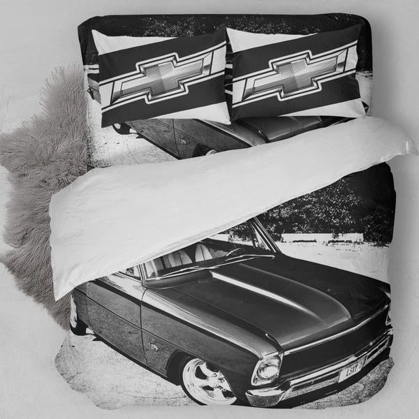 1966 Chevrolet Chevy II Nova Car Bedding Set