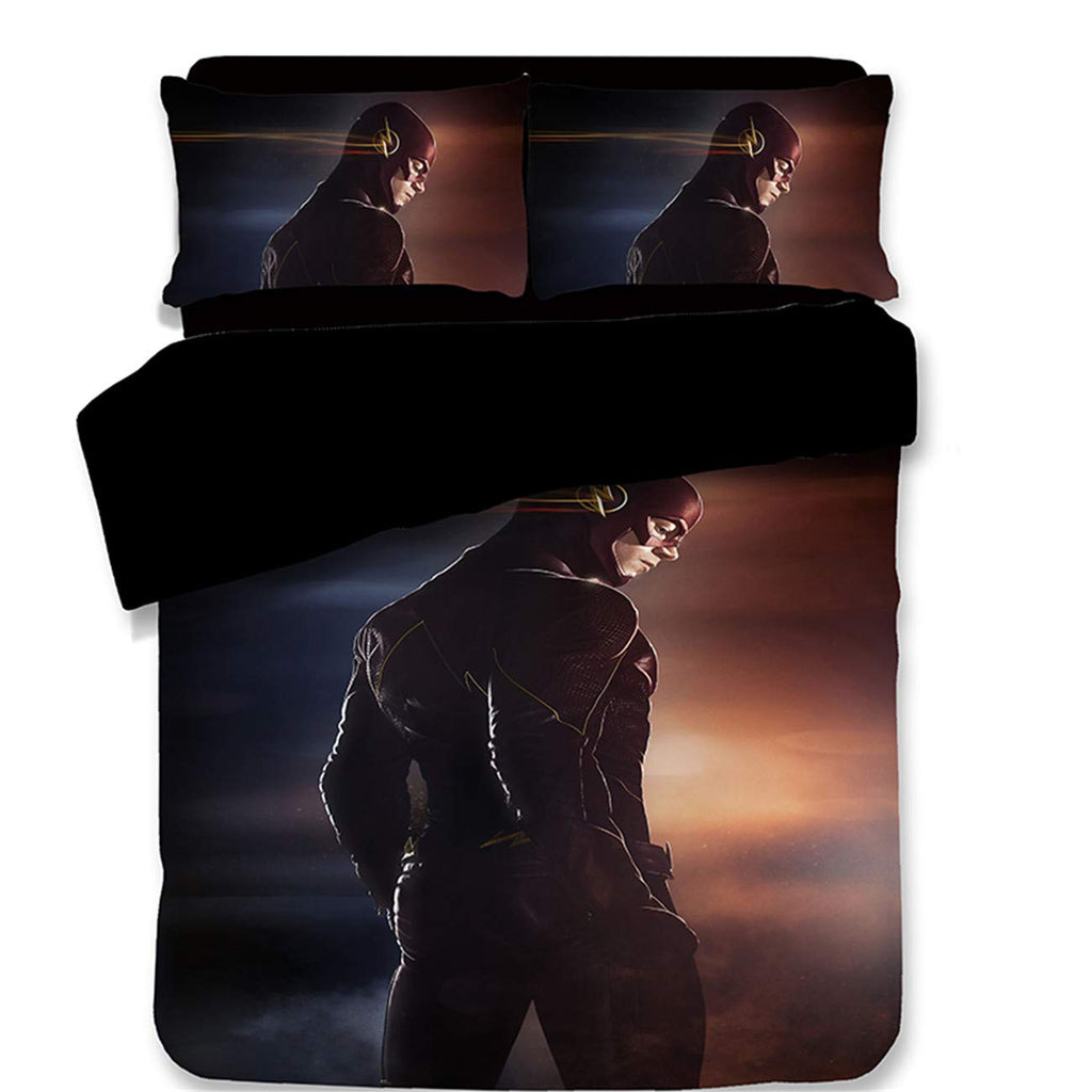 3D Art Pattern DC Comic The Flash 2018 Printed Bedding Sets