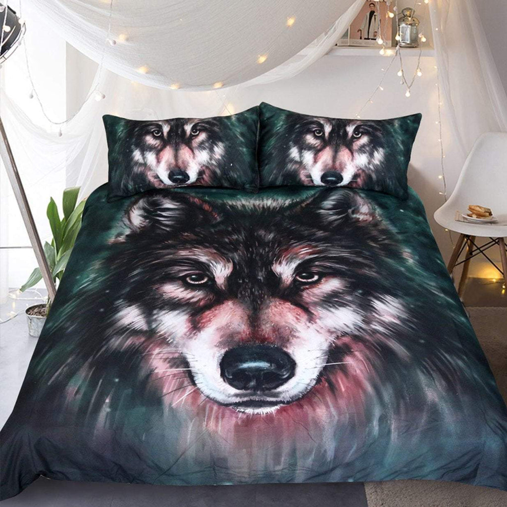 3D BAD WOLF BEDDING SET